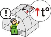 Оцинкованная теплица Сибирская АвтоИнтеллект XXL (ТРУБА 40-КА!) 8x3x2